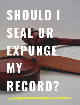 seal, expunge, sealing, expungement